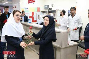 IMG 4901 300x200 - بازدید و تبریک اعضای نظام پرستاری از بیمارستان های شرق گلستان+عکس