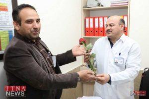 IMG 4904 300x200 - بازدید و تبریک اعضای نظام پرستاری از بیمارستان های شرق گلستان+عکس