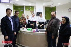IMG 4953 300x200 - بازدید و تبریک اعضای نظام پرستاری از بیمارستان های شرق گلستان+عکس