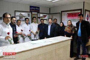 IMG 4964 300x200 - بازدید و تبریک اعضای نظام پرستاری از بیمارستان های شرق گلستان+عکس