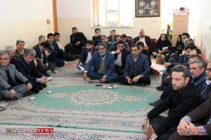 دیدار مسئولین ادارات گنبد کاووس با امام جمعه