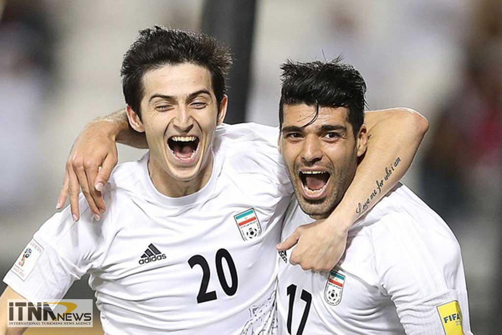 IRAN RUSIE04 - تیم ملی فوتبال ایران در خانهی روسیه 1-1 مساوی کرد