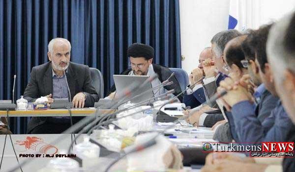 Jalase 26T - جلسه شورای حفظ حقوق بیت المال استان گلستان برگزار شد