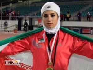 Javaherzamani itnanews 300x226 - کسب دومدال طلا توسط جواهر زمانی در رشته دومیدانی بانوان کشور