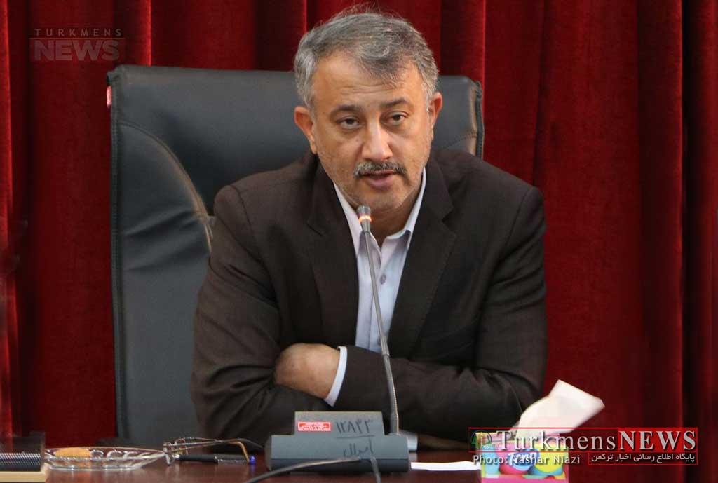 Karimi TN 24M - افزایش ۱۰۰ درصدی اعتبارات تملک و دارایی شهرستان گنبدکاووس