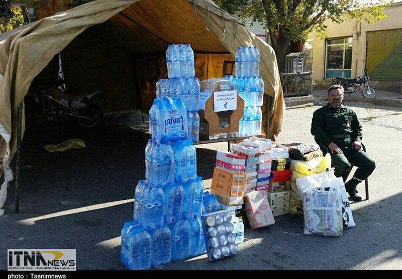 Komak Golestan 28A - ۶ میلیارد ریال کمکهای مردم استان گلستان به مناطق زلزلهزده ارسال شد