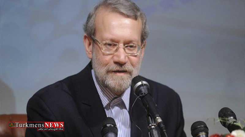 Larijani 8T - Larijani:Eýran özüniň belli usullaryna daýanyp ýadro gepleşiklerine gatnaşypdy