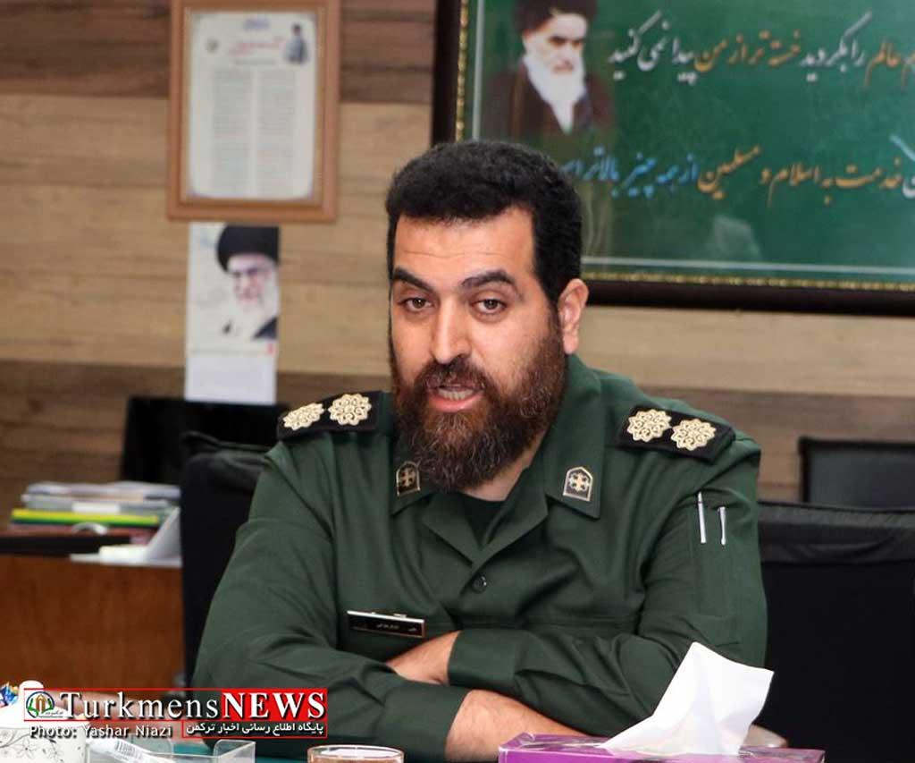 Lashkar Blouki01 - اقتدار بسیجیان و سپاه دلیل امنیت پایدار ایران در منطقه است+تصاویر