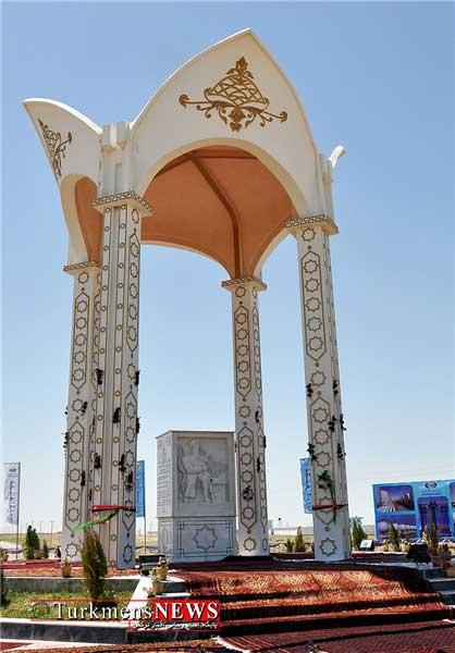 M Feraghi 27F 2 - رونمایی از بنای «مخدومقلی فراغی» در «اندخوی» افغانستان +تصاویر