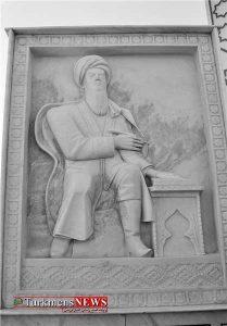 M Feraghi 27F 209x300 - رونمایی از بنای «مخدومقلی فراغی» در «اندخوی» افغانستان +تصاویر