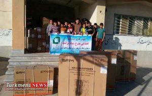 Madrese 8E 300x189 - اهدای 34 'اسپیلت' به مدارس بخش مرزی داشلی برون گلستان