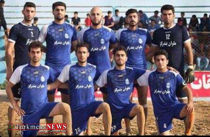 Malavan 30F - تلاش تیم ملوان بندر گز برای صعود به رده تیم های برتر