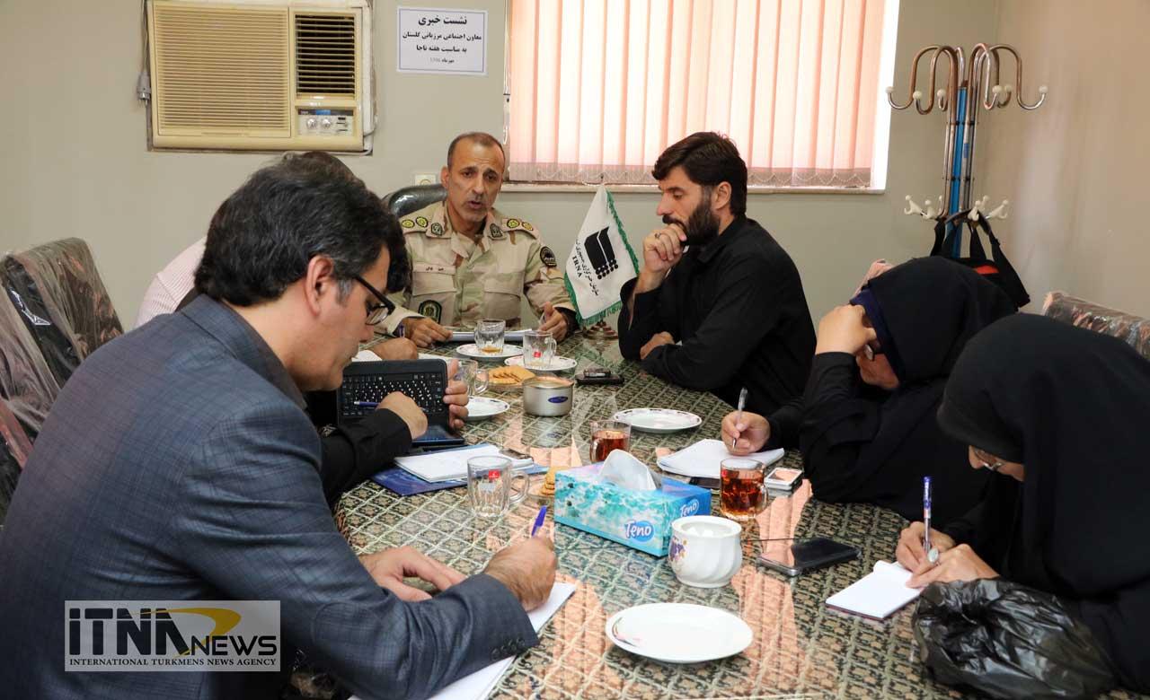 Marzbani itnanews 2 - به مناسبت هفته ناجا 50 برنامه شاخص در مناطق مرزی گلستان برگزار میشود