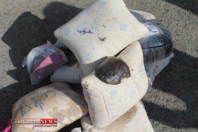 Mavad Mokhader 10Kh - پاكسازي نقاط آلوده و كشف 155 كيلوگرم مواد مخدر در گلستان