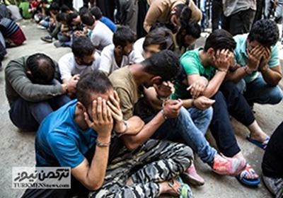 Mokhader 26D - خرده فروشان مخدر آق قلا در دام پلیس