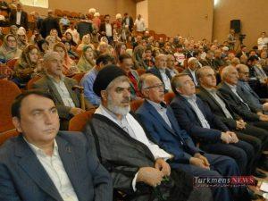 Moosa Jorjani TurkmensNews 3 300x225 - مراسم نکوداشت موسی جرجانی به پاس نیم قرن فعالیت در عرصه فرهنگ و هنر ترکمن برگزار شد