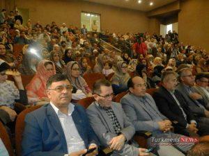 Moosa Jorjani TurkmensNews 9 300x225 - مراسم نکوداشت موسی جرجانی به پاس نیم قرن فعالیت در عرصه فرهنگ و هنر ترکمن برگزار شد
