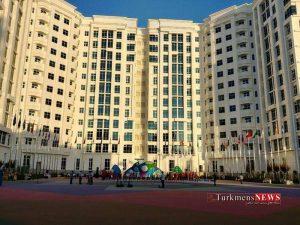 Olampic Turkmen 1 300x225 - پرچم ایران در دهکده بازیهای داخل سالن به اهتزاز درآمد+ تصاویر
