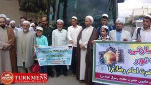 Ordoo 19d 300x169 - دومین کاروان علما و روحانیون شیعه و سنی گلستان به مشهد اعزام شد