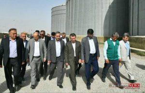 Ostandari 11Kh 300x193 - بازدید استاندار گلستان از سیلو ها و مراکز خرید گندم