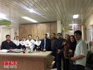 Parastaran 1 300x225 - بازدید و تبریک اعضای نظام پرستاری از بیمارستان های شرق گلستان+عکس