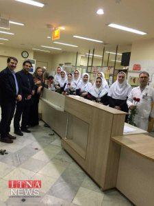 Parastaran 3 225x300 - بازدید و تبریک اعضای نظام پرستاری از بیمارستان های شرق گلستان+عکس