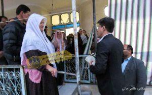 دیدار رامین نورقلی پور با خانواده زندانیان ترکمنستان