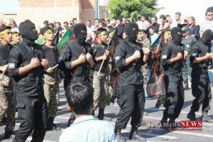 Reje TN 33 300x200 - رژه نیروهای مسلح گنبد کاووس برگزار شد/گزارش تصویری