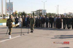 Rezheh 29F 11 300x200 - رژه نیروهای مسلح شهرستان گنبدکاووس به مناسبت روز ارتش به روایت تصویر