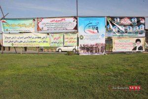 Rezheh 29F 13 300x200 - رژه نیروهای مسلح شهرستان گنبدکاووس به مناسبت روز ارتش به روایت تصویر