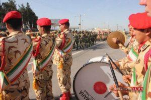 Rezheh 29F 2 300x200 - رژه نیروهای مسلح شهرستان گنبدکاووس به مناسبت روز ارتش به روایت تصویر