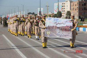 Rezheh 29F 4 300x200 - رژه نیروهای مسلح شهرستان گنبدکاووس به مناسبت روز ارتش به روایت تصویر