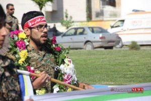 Rezheh 29F 5 300x200 - رژه نیروهای مسلح شهرستان گنبدکاووس به مناسبت روز ارتش به روایت تصویر