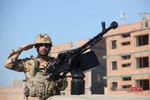 Rezheh 29F 8 300x200 - رژه نیروهای مسلح شهرستان گنبدکاووس به مناسبت روز ارتش به روایت تصویر
