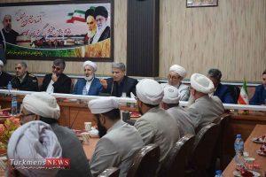 الیاس هیوه چی - نشست با روحانیون و معتمدین شهرستان ترکمن