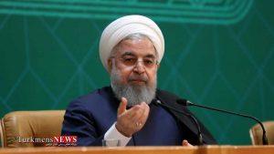 Rouhani 8T 300x169 - Ruhani:bet niýetliler Eýran milletiniň garşysynda baş egjekdirler