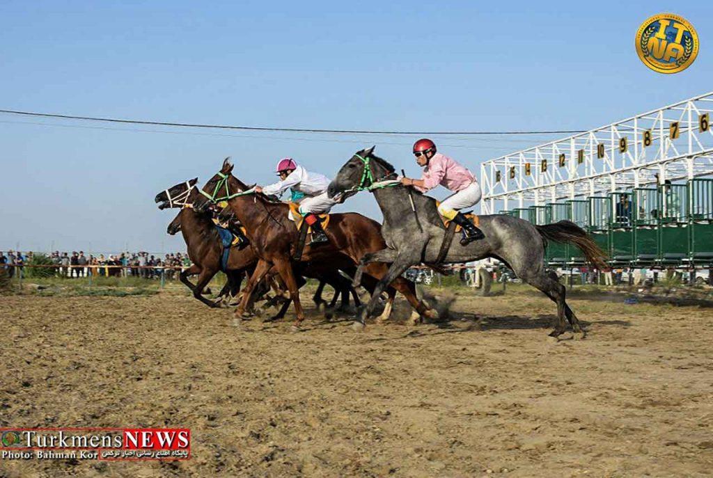 مسابقات اسبدوانی بهاره ۱۴۰۰ شهرستان ترکمن استارت می خورد