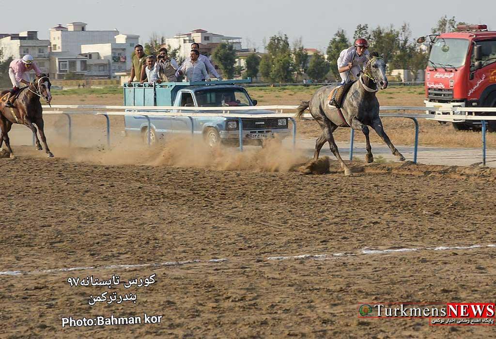 Savarkari 18M - هفته هشتم مسابقات اسبدوانی کورس تابستان بندرترکمن برگزار میشود