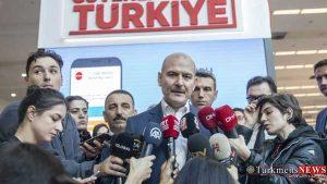 Türkiýäniň içeri işler ministri Süleyman suylu 300x169 - Türkiýe DAEŞ-yň agzalary barada Ýewropalylara duýduryş berdi