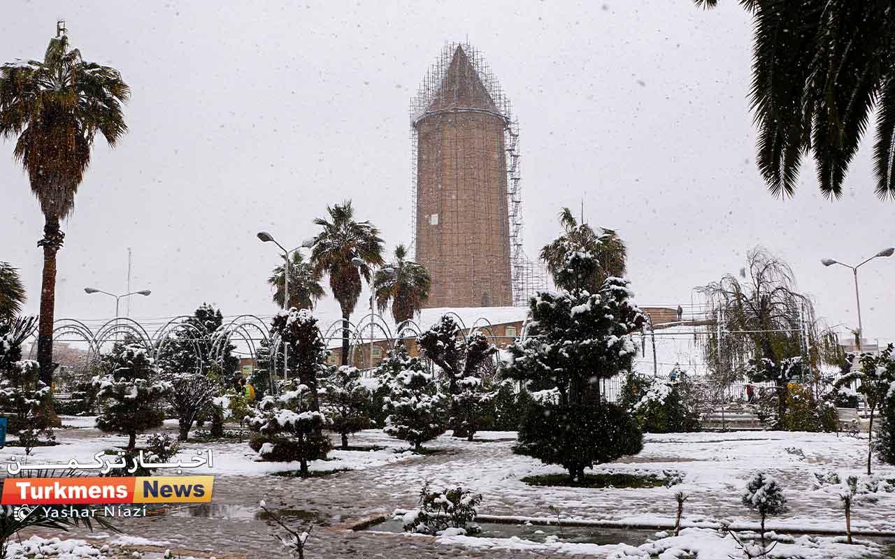 TN Barf 6 - بارش برف در گنبدکاووس شادی را برای مردم شهرستان به ارمغان آورد+ تصاویر