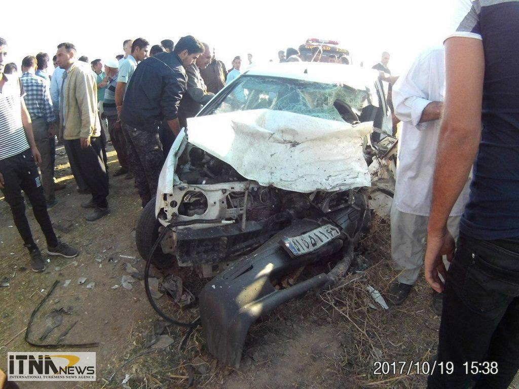 Tasadof itnanews 3 1024x768 - ۴ کشته در تصادف مرگبار جاده آجیقوشان-گنبدکاووس