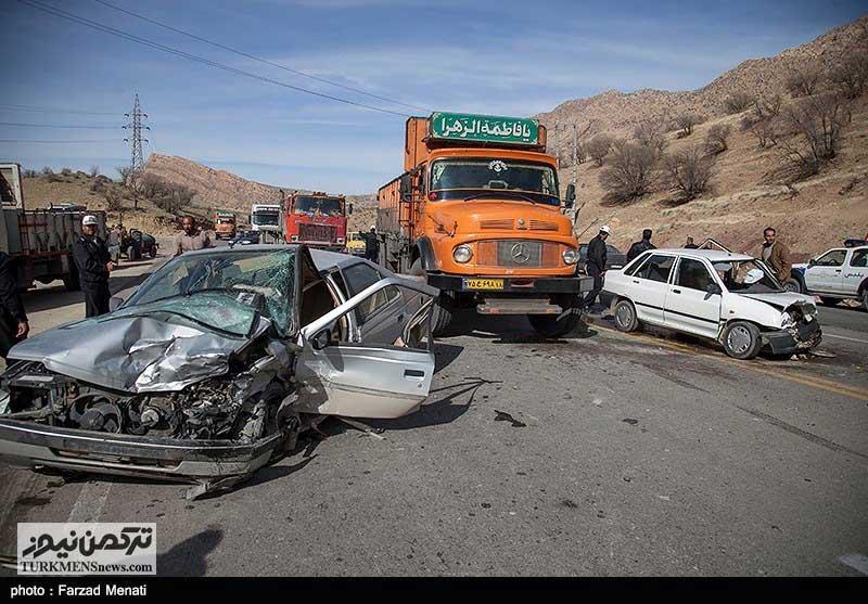 Tasadofat 26D - کاهش ۱۶ درصدی تصادفات فوتی در استان گلستان