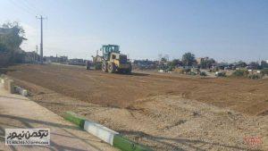 Tasavir JadeSalamat 3 300x169 - جاده سلامت گنبد کاووس برای ورزش و پیاده روی شهروندان در حال احداث است