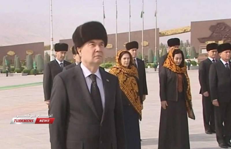 Turkmenistan Sehitleri - Türkmenistan Şehitlerini Hatyralady