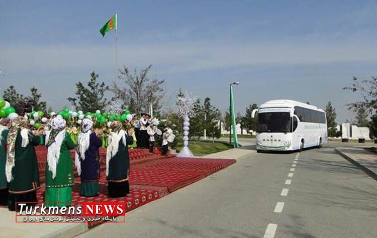 سفر حسن روحاني به ترکمنستان