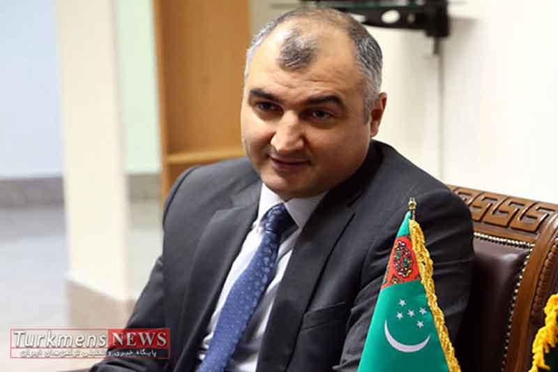 احمد قرباناف سفیر ترکمنستان در ایران