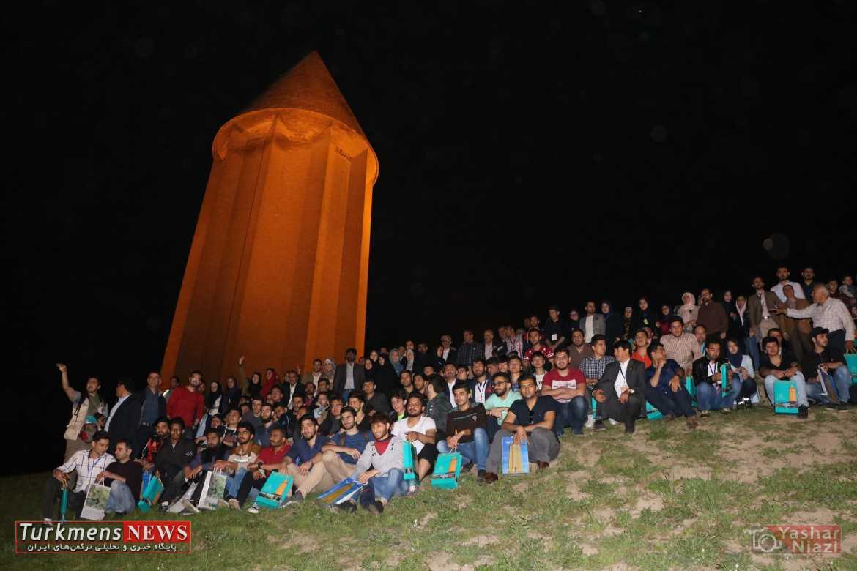 دانشجویان خارجی در همایش فرهنگی گنبد قابوس