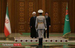 سفر رییس جمهور به عشق آباد ترکمنستان