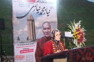 TurkmensNews Yadvareh 1 300x200 - یادواره پدر فرش ترکمن استاد نیاز محمد نیازی در جوار گنبدقابوس برگزار شد+تصاویر