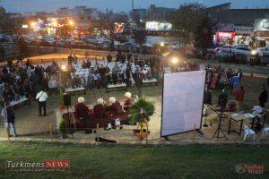 TurkmensNews Yadvareh 18 300x200 - یادواره پدر فرش ترکمن استاد نیاز محمد نیازی در جوار گنبدقابوس برگزار شد+تصاویر